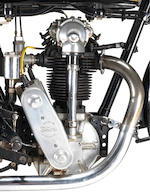 From the estate of the late Jeff Clew, the ex-Harold Lamacraft, Bert Perryman,1930 Velocette 348cc KTT Racing Motorcycle Frame no. 2212 Engine no. KTT266