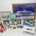 A collection of Mercedes-Benz memorabilia,