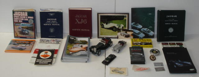 Assorted Jaguar memorabilia,