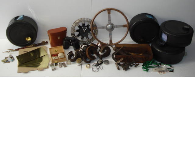 A Bluemel's Brooklands steering wheel,