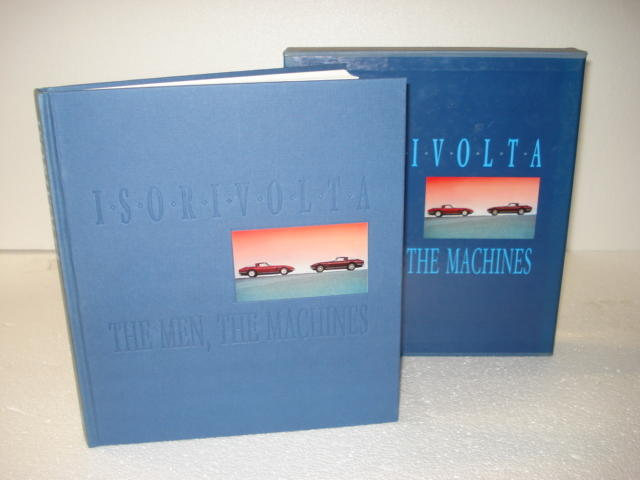 A signed copy of Winston Scott Goodfellow: Isorivolta The Men, The Machines;