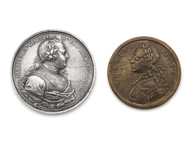 Richard Yeo; A Culloden medal  (2)