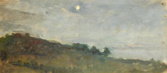 Scipione Vannutelli (Italian, 1834-1894) Moonrise