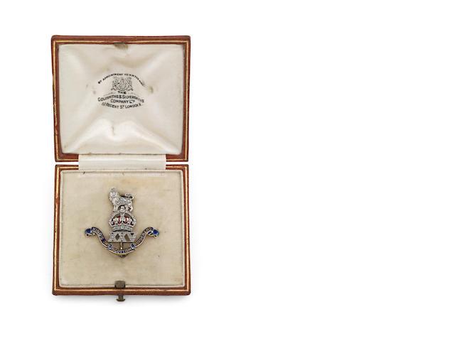 An early 20th century Scottish regimental sweetheart brooch