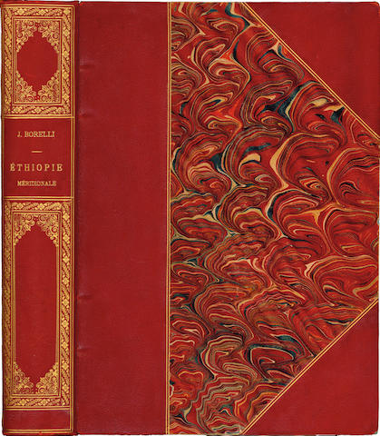 BORELLI (JULES) Éthiopie méridionale. Journal de mon voyage aux pays Amhara, Oromo et Sidama... 1885 à 1888, 1890