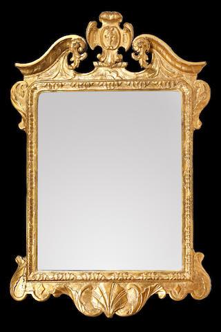 A George I gilt mirror