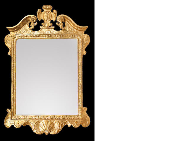 A George I gilt mirror