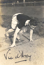 Harold M. Abrahams - Athletics Archive