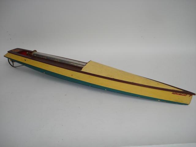 A Hobbies Bowman Aeroboat,