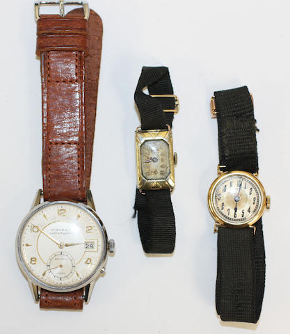Movado: A gentleman's Calendoplan wristwatch(3)