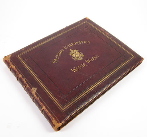 PHOTOGRAPH ALBUM ANNAN (THOMAS) Glasgow Corporation Water Works, Photographic Views of Loch Katrine and of Some of the Principal Works Constructed for Introducing the Water of Loch Katrine into the City of Glasgow