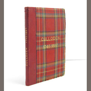 CULLODEN HOUSE Purchasers' Catalogue for the Valuable Contents of Culloden House... Sold By Auction By Messers A. Fraser & Co. Inverness on Wednesday 21st July 1897