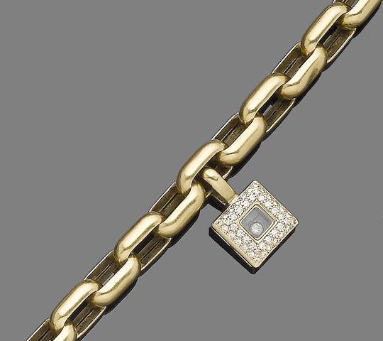 A 'Happy Diamond' bracelet, by Chopard