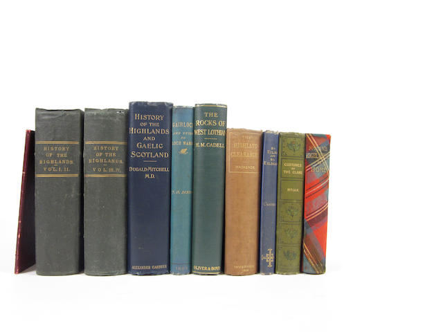 THE HIGHLANDS BROWNE (JAMES) A History of the Highlands and of Highland Clans, 4 vol. in 2