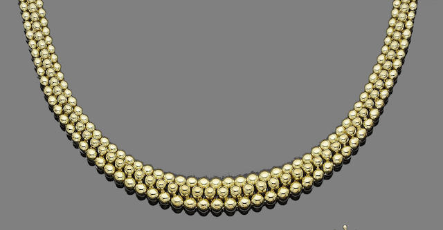A collar necklace, by Boucheron