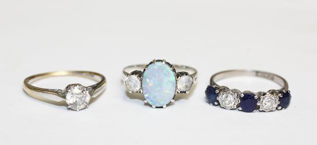 Three rings,