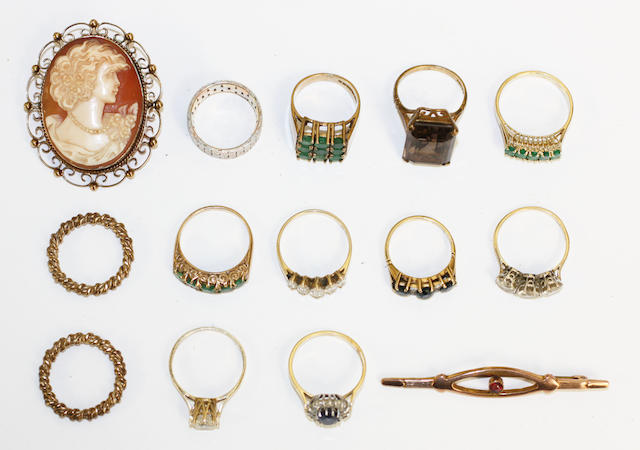 A collection of rings,