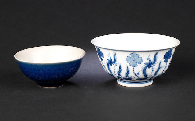Two porcelain bowls