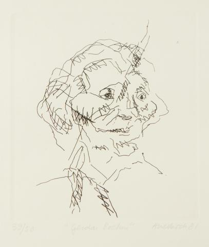 Frank Auerbach (British, born 1931) Gerda Boehm