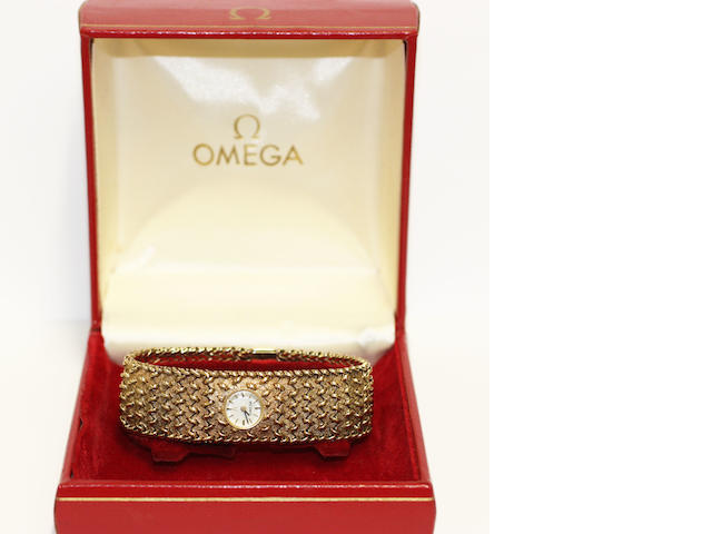 Omega - gold lady's watch