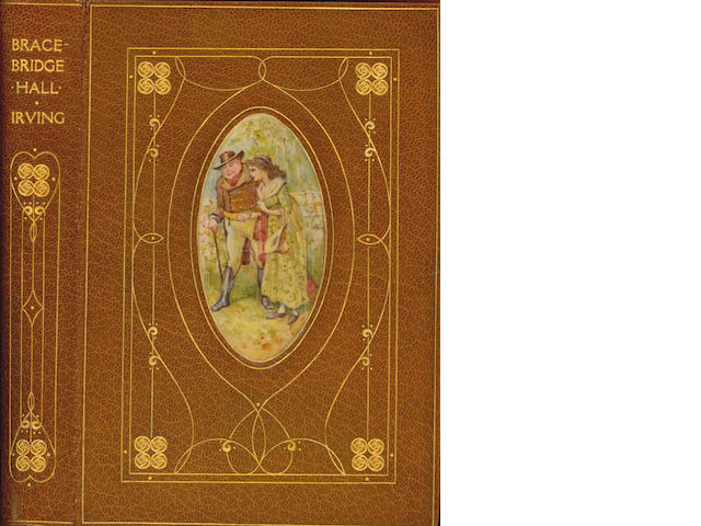 BINDINGS IRVING (WASHINGTON) Bracebridge Hall, chivers binding, 1877