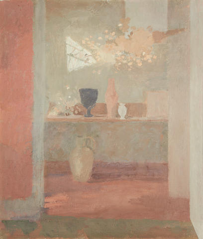 Mary Potter (British, 1900-1981) The Flower Room, Red House, Aldeburgh