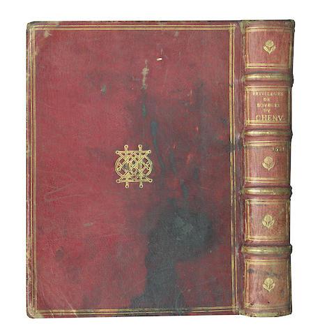 CHENU (JEAN) Recueil des antiquitez et privileges de la Ville de Bourges, 1621