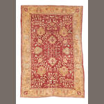 A Ziegler design carpet, 403cm x 274cm together with another smaller (2)