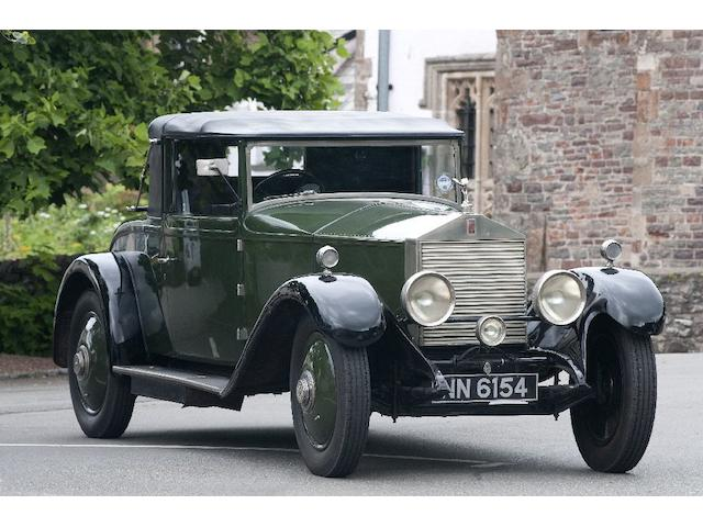 1923 Rolls Royce 20hp Doctors Coupe  Chassis no. 86 K2 Engine no. E52689
