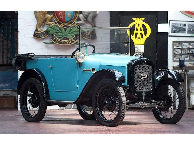 1927 Austin Seven Chummy  Chassis no. A4/5427 Engine no. 37739