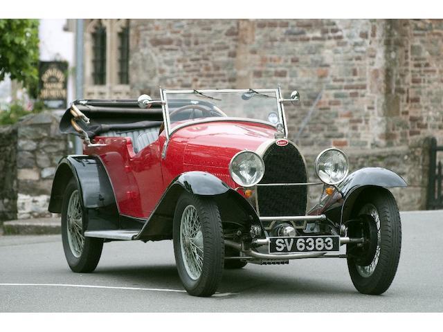 1927 Bugatti Type 40  Chassis no. 40445 Engine no. 429