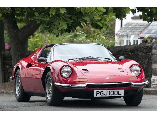 1972 Ferrari Dino Spyder  Chassis no. 05404 Engine no. 05404