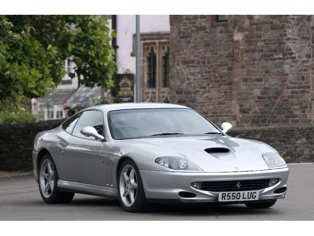 1998 Ferrari 550 Maranello  Chassis no. ZFFZR49C000111360 Engine no. 48993