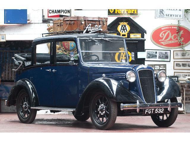 1938 Austin Landaulette Taxi Cab  Chassis no. 82431L