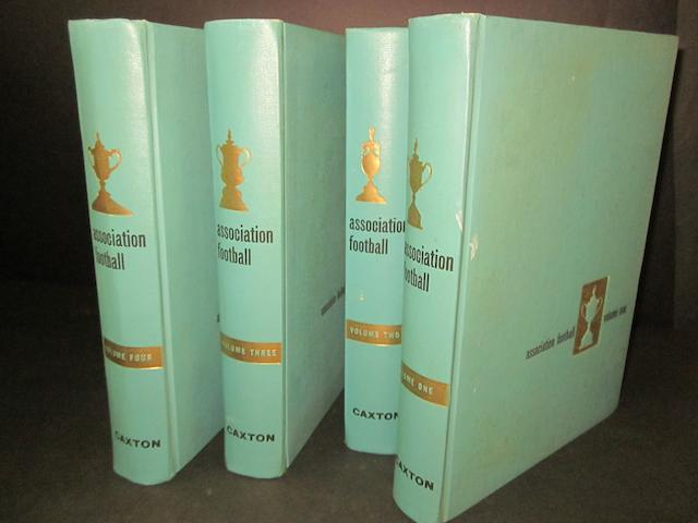 Caxton: Association Football books, 4 Volumes