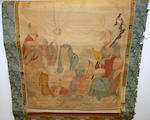 Chinese School, late Qing dynasty, a scroll painting of a Buddha, 103 x 55cm.