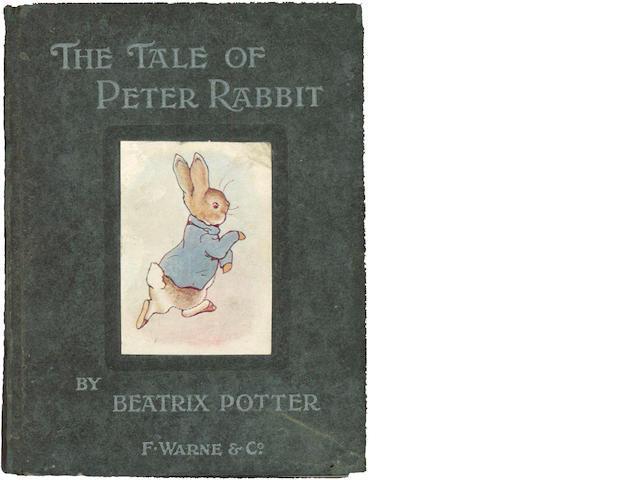 POTTER (BEATRIX) The Tale of Peter Rabbit, first published edition, first issue, [1902]