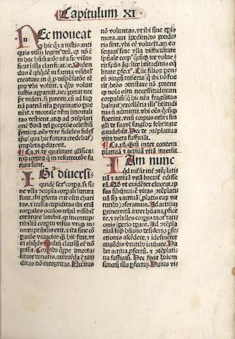 PROSPER AQUITANUS De vita contemplativa. De vita actuali, 1487