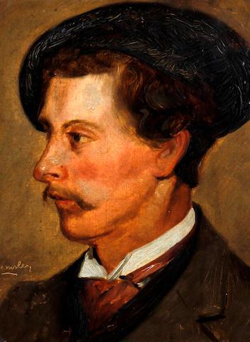 Walter Emsley (British, active 1883-1927) 'The Poet'