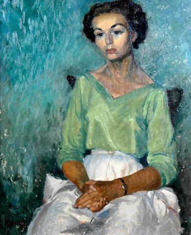 Osmund Caine (British, 1914-2004) 'Muriel'