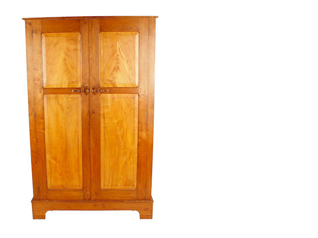 Arts & Crafts style oak wardrobe