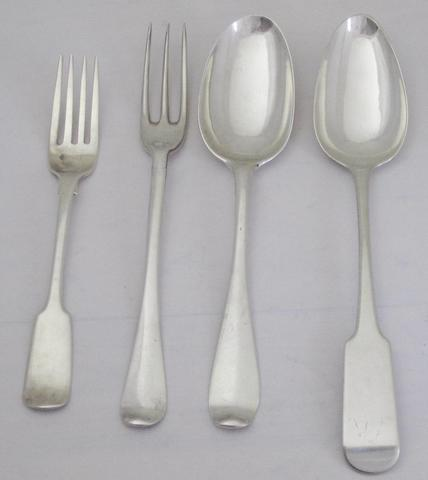 A collection of Aberdeen flatware