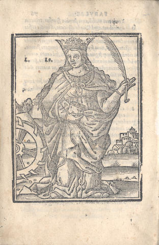 AESOP. Fabularum, 1526