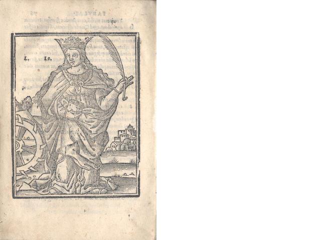 AESOP Fabularum, 1526