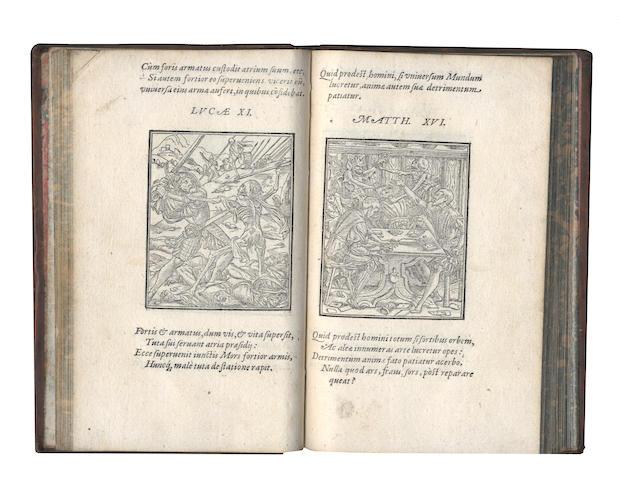 CORROZET (GILLES)] Imagines Mortis, 1573