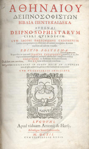 PANCIROLI (GUIDO) Rerum memorabilium, 2 vol. in one, 1629; and another (2)