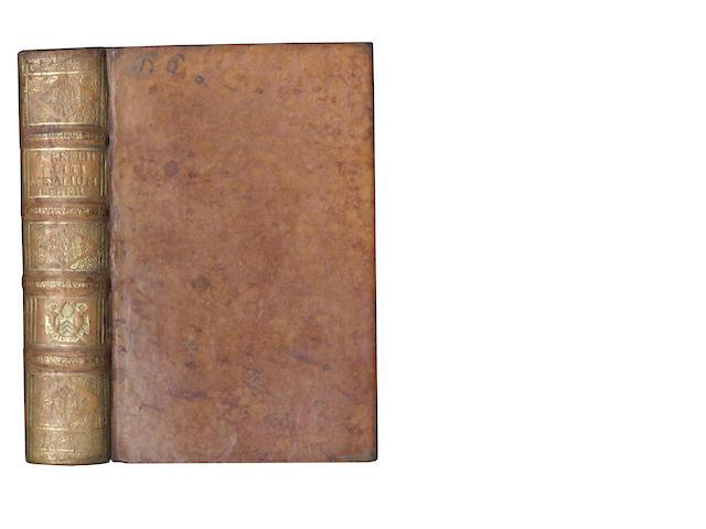 TACITUS (GAIUS CORNELIUS) [Annalium]exacta cura recognitus, 1534, bound with 2 others