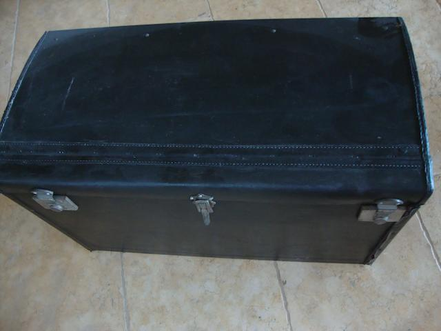 A Dunhill motoring trunk,