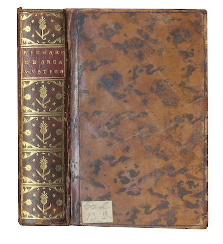 RICHARDUS DE SANCTO VICTORE De arca mystica, 1494