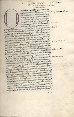 SALLUSTIUS CRISPUS (GAIUS) Opera, 1481